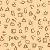 Diamonds pattern — Stock Vector