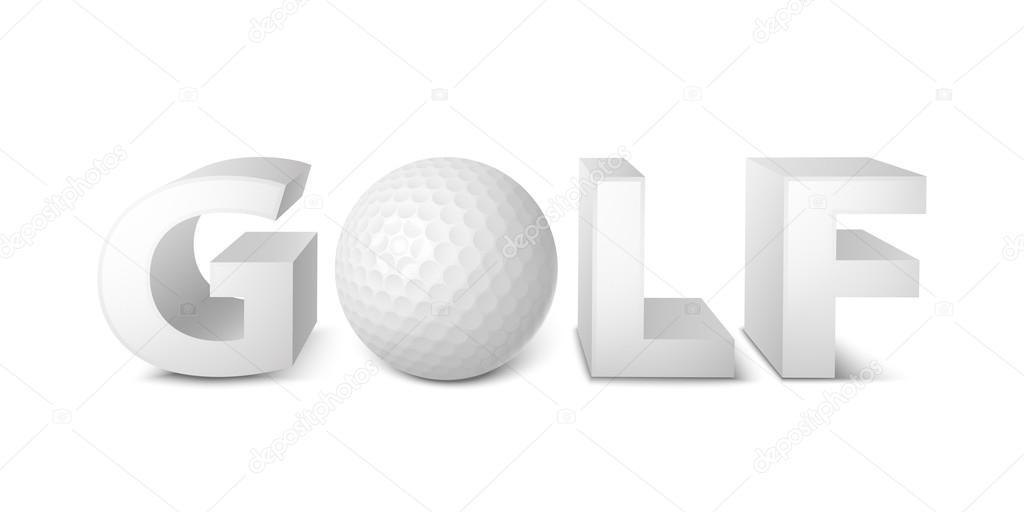 Golf Ball Logo Template Golf Ball Logo Template