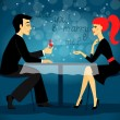 Will you marry me, marriage proposal — Imagen vectorial