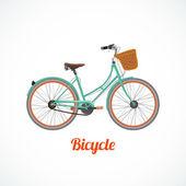 Vintage bicycle symbol — Stock Vector
