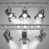 Show projectors — Stock Vector