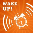 Wake up alarm — Stock Vector #36846853