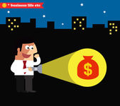 Business achievement — Stock Vector