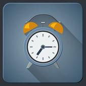 Icono de reloj despertador — Vector de stock
