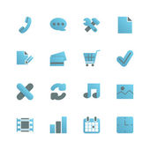 Ecommerce iconset for web design — Stock Vector