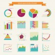 Stock Vector: Business infographic elements