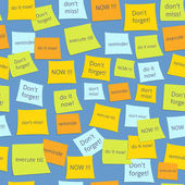 Seamless business sticky notes — Stockvector