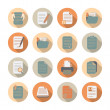 Documents Files and Folders Icons Set — Stock Vector #43174459