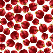 Pomegranate seamless pattern — Stock Vector