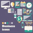Business icons set — Stock Vector #43823157