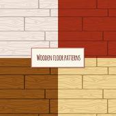 Wzór podłogi drewniane — Wektor stockowy