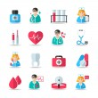 Medical healthcare icons set — Stock Vector #44664245