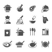 Cooking icons set — Stock Vector