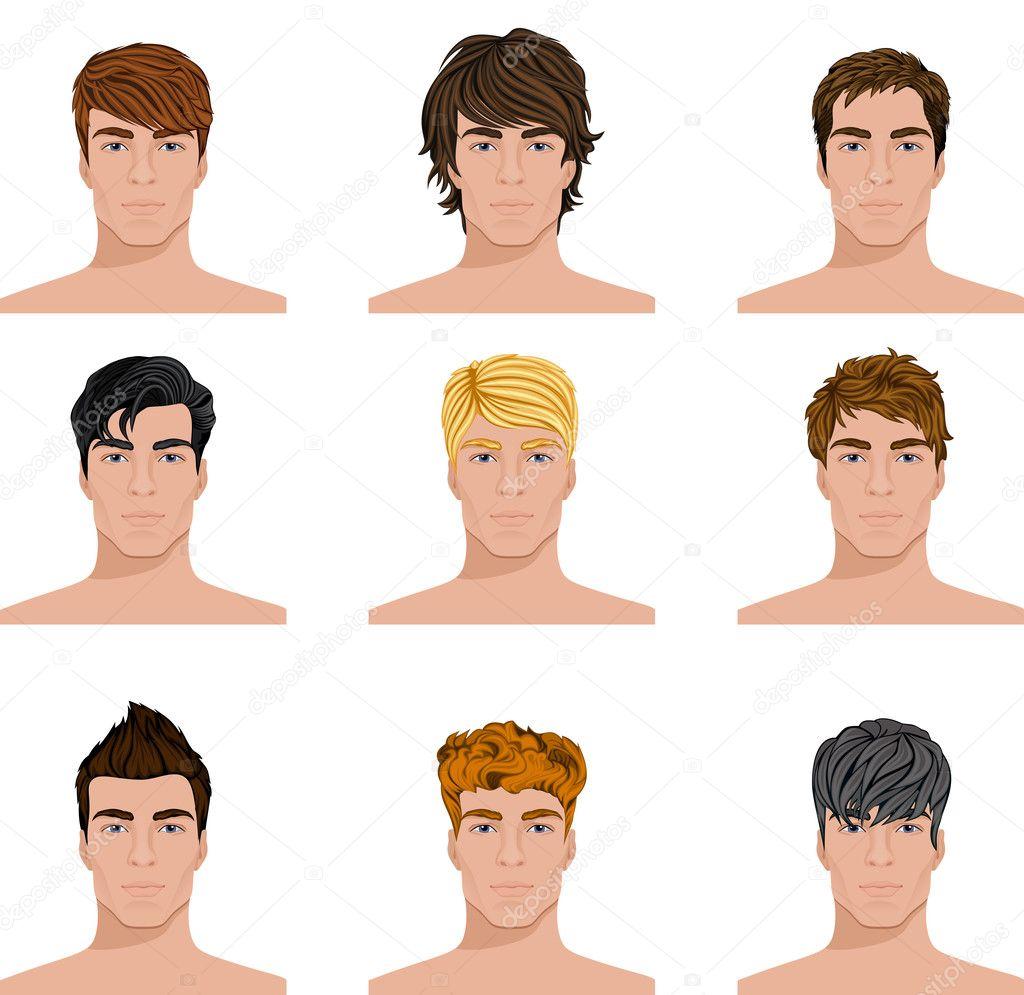 Как подобрать мужскую прическу на овальное лицо
