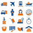 Logistic icons set — Stock Vector #45049315