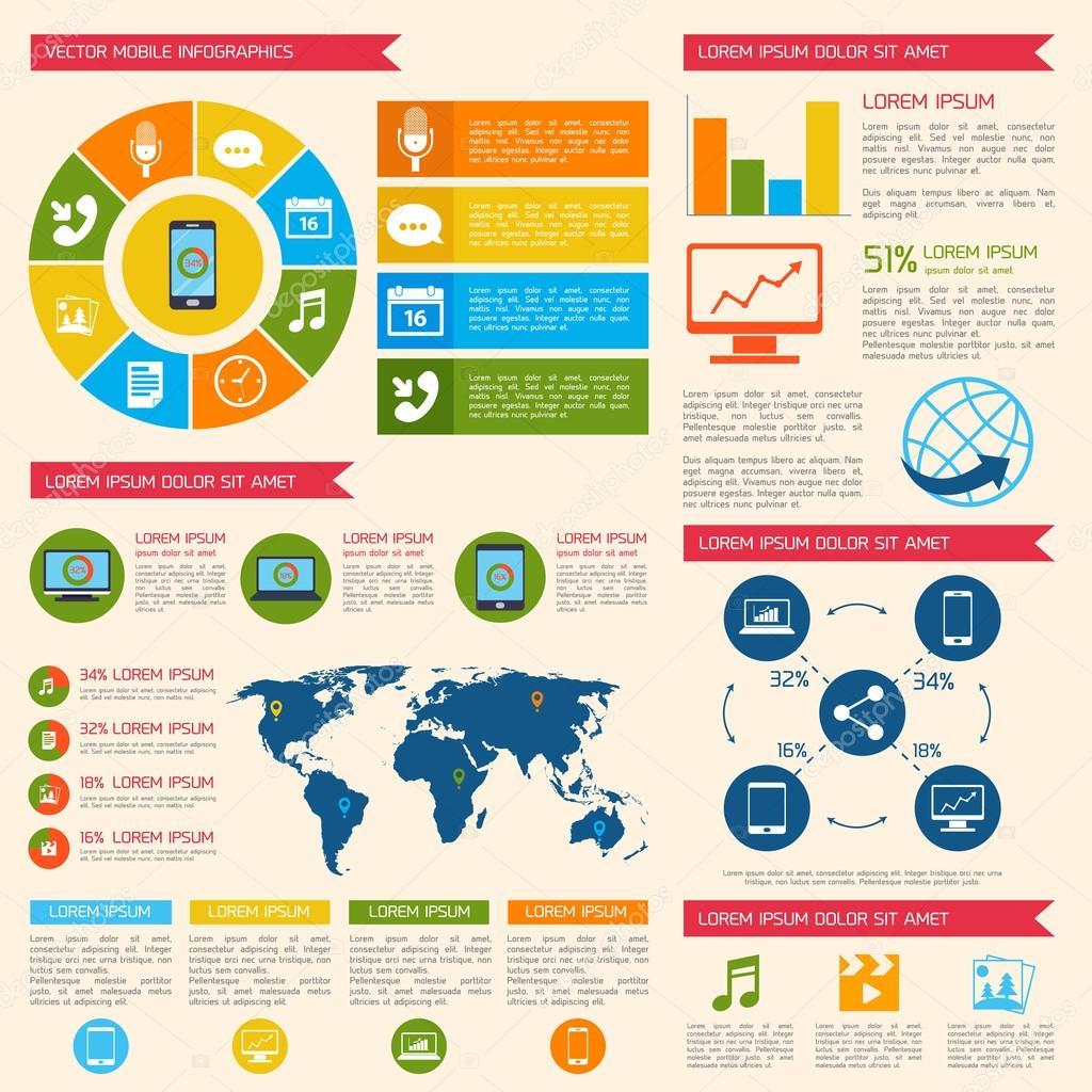 Infographic creation app