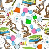 Science sketch papier peint sans soudure — Vecteur