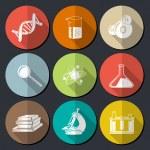 Постер, плакат: Science Symbols Flat