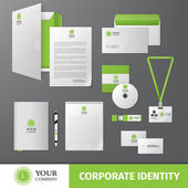 Corporate identity template — Stock Vector