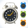 Постер, плакат: Alarm clock set