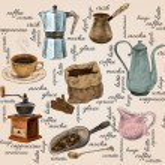 Vintage coffee handdrawn set — Stock Vector #46559169