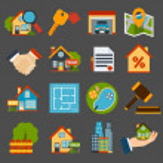 Real Estate Set — Stock Vector #46979511