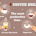Coffee break concept — Stock Vector #48215637