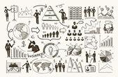 Sketch management process — Stock Vector