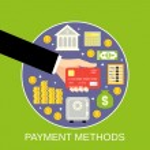Payment methods concept — Stockvektor