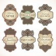 Vintage labels set — Stock Vector #49162607