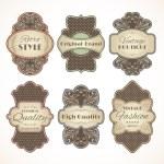 Vintage labels set — Stock Vector #49162607