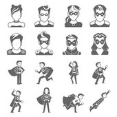Super hero icon — Vetorial Stock