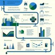 Постер, плакат: Oil production infographics