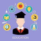Conceito de educação — Vetorial Stock
