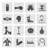 Set of Boxing Icons — 图库矢量图片