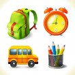 Education icons set — Stock Vector #51177835