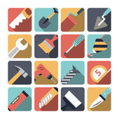 Home Repair Tools Icons — Stock Vector