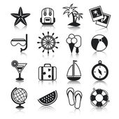 Holyday icons set — Stock Vector