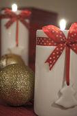 Sostenedor de vela de navidad — Foto de Stock