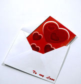 Valentines card — Stock Photo