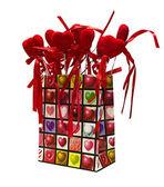 Paper Valentines gift bag — Zdjęcie stockowe