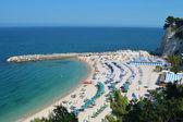 Spiaggia Urbani - Sirolo — Stok fotoğraf