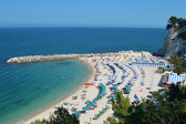 Spiaggia Urbani - Sirolo — Foto de Stock