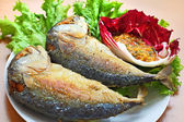 Fried Mackerel — Stock Photo