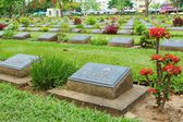 KANCHANABURI WAR CEMETERY — Stock Photo