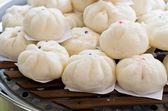 ångad dumpling — Stockfoto
