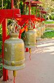 Duże dzwony metalowe — Zdjęcie stockowe