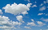 Cloud with blue sky — Stock Photo