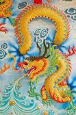 Dragon sculpture — Stock Photo