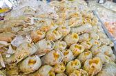 Mantis shrimp with ice — Stock Photo